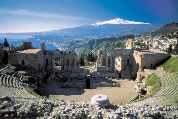 Croisière en Méditerranée; Naples Villa Pausilypon